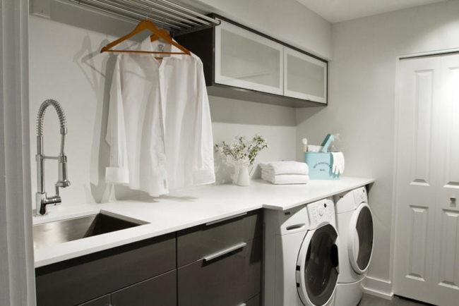 Tvättstuga - några idéer - modern tvättstuga - groventré